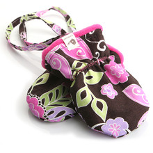SNOW MITTENS - BLOSSOM ORCHID