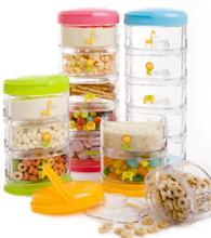 Packin' SMART Stackables 5 Tier - Butterfly / Sweet Honeydew