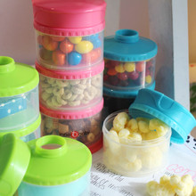 Packin' Smart 3-Tier Stackable and Portable Storage System for Formula, Liquid, Baby Snacks and more!