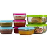 Keepin' SMART Glass Tot Food Cubes 12 oz - 2 Pack / Green