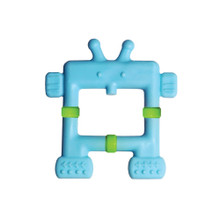 Teethin' Smart  EZ Grip Teether Robot - Blue