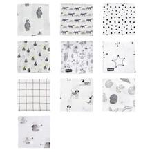 LIGHT MUSLIN CUDDLE BLANKET (Various Patterns)