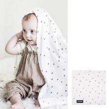 Dono&Dono Silky Smooth Bamboo Cuddle Blanket 41 x 41 inch
