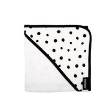 Hooded Cotton Muslin Towel for Infants and Babies (Various Patterns)