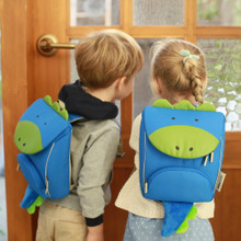 Milo & Gabby Animal Shaped Backpack with Safety Strap & Monogramming Option