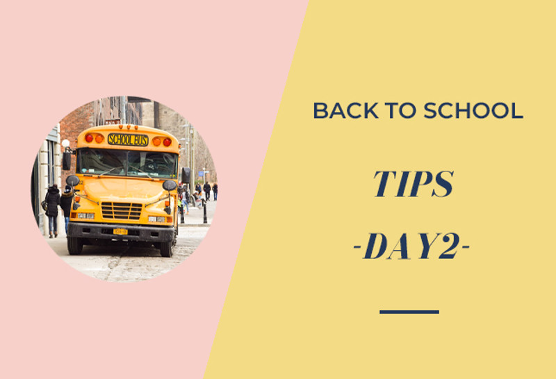 Back to School Tips - Day 2 - Back to School Safety Tips