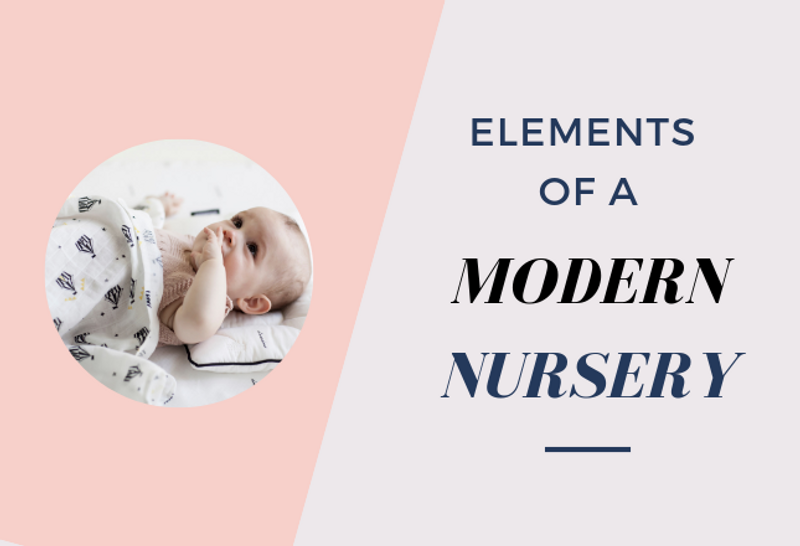 Elements for a Modern Nursery