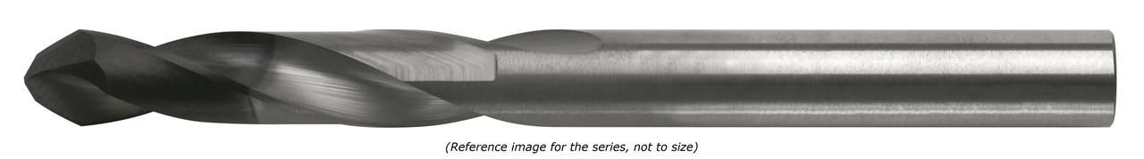 """0.1285"""" DIA X 1.400"""" LOC X 2.70"""" OAL 2 FL 118-deg Drill Tip"""