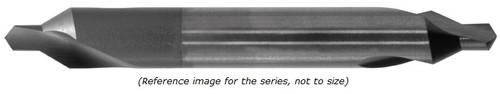 """0.0250"""" DIA X  1-1/2"""" OAL 2 FL 118-deg Drill Tip"""