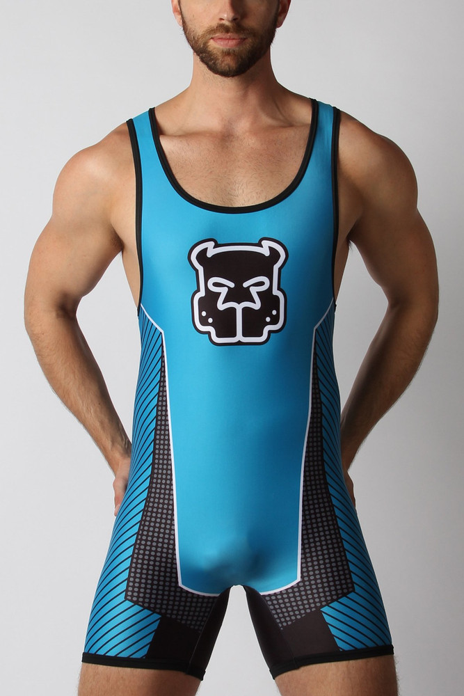 Kennel Club Scout Zipper Singlet - Turquoise