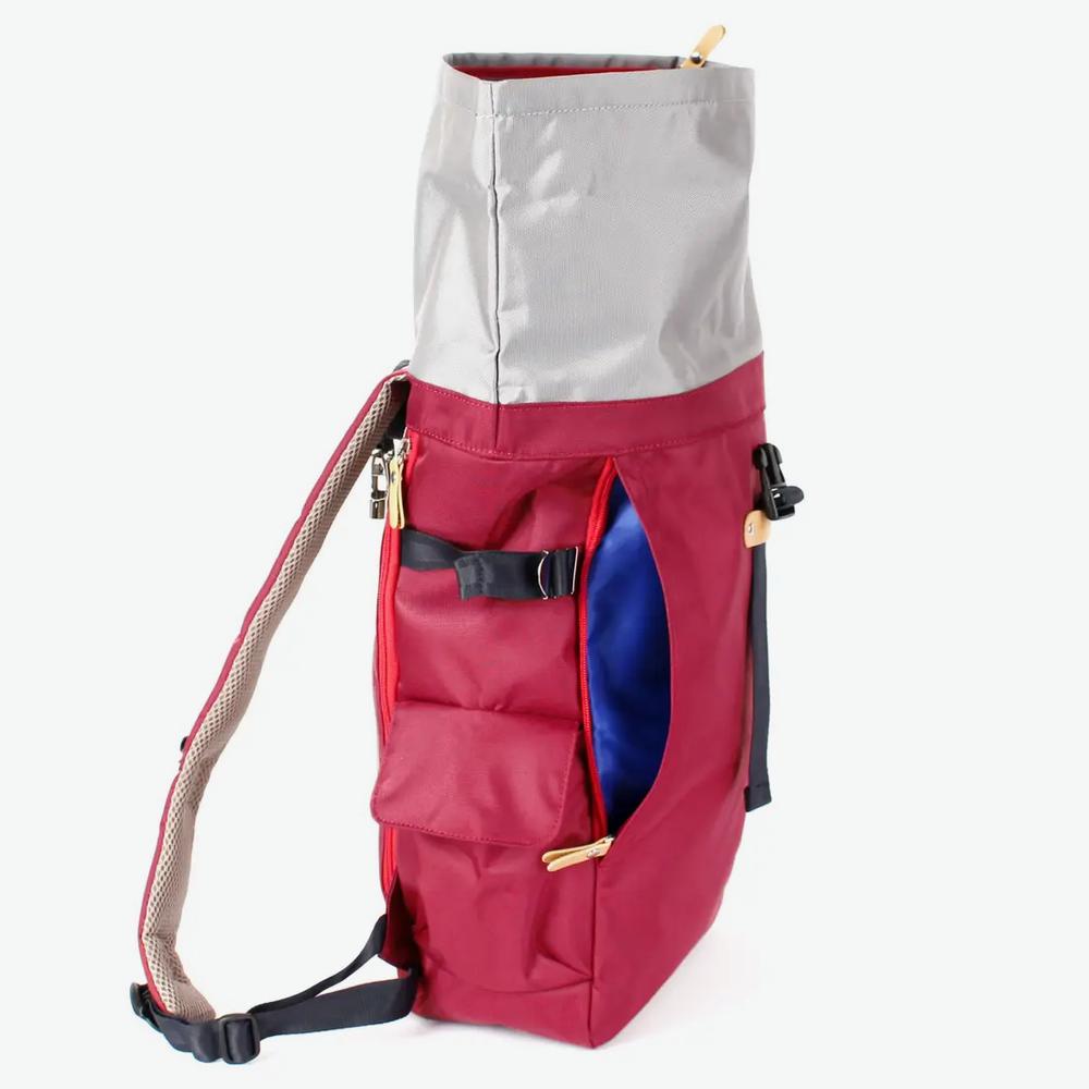 Harvest Label Rolltop 2.0 Backpack - Burgundy
