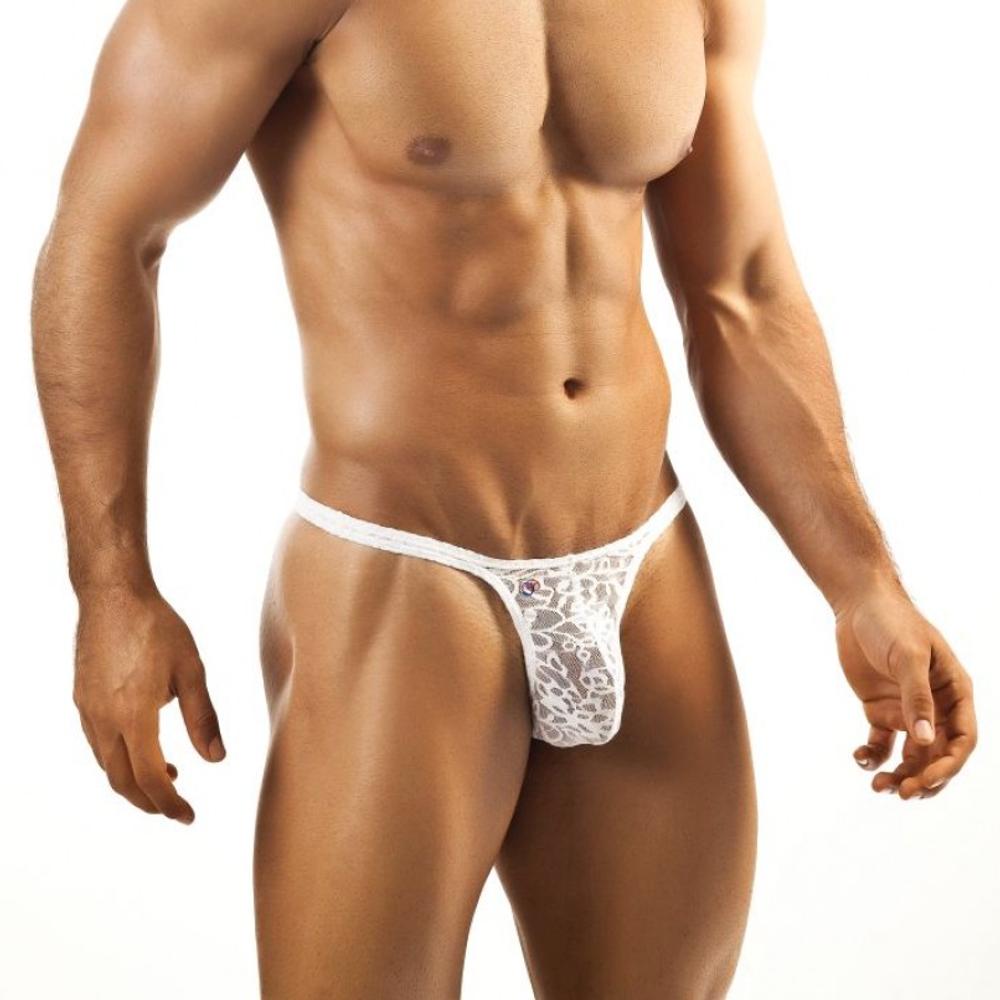 Joe Snyder Rio Lace Thong - White