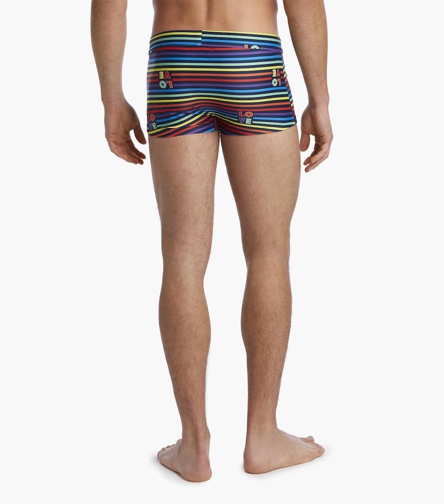 2(x)ist Cabo Pride LOVE Swim Trunks