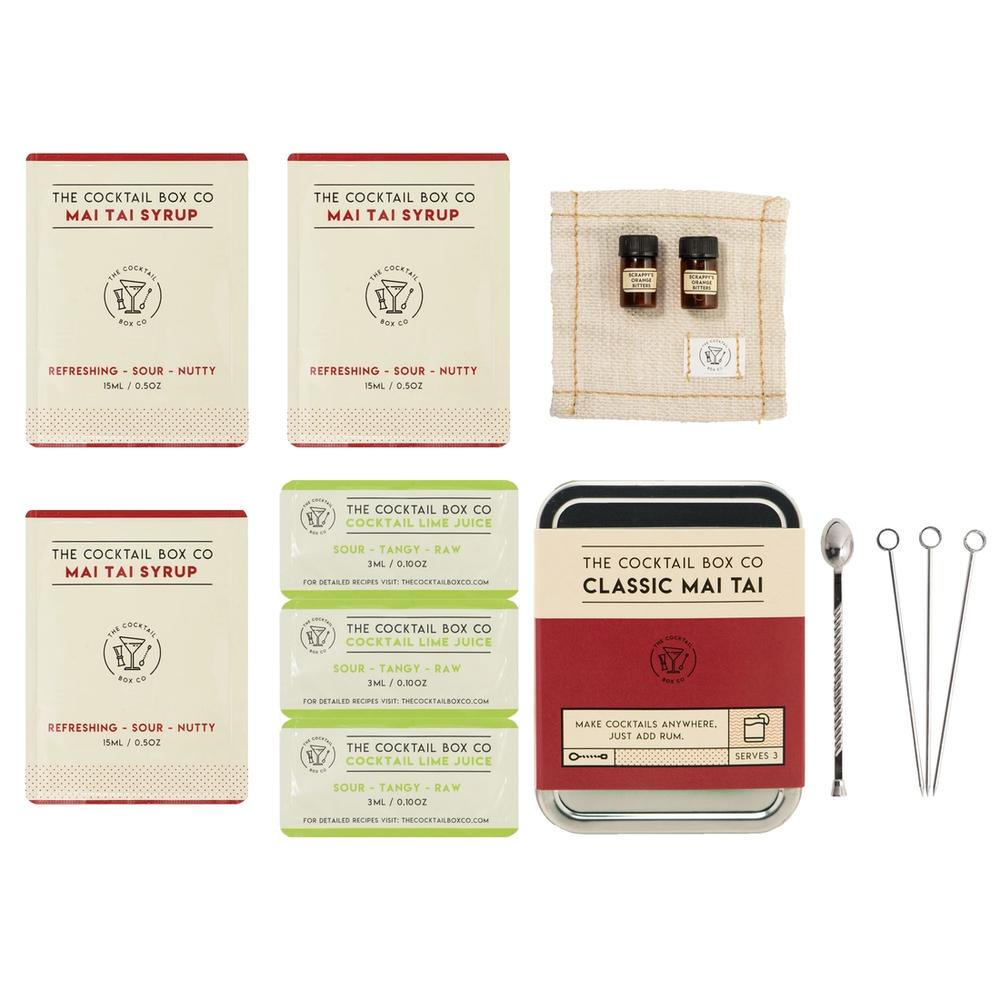 The Cocktail Box - Classic Mai Tai Kit