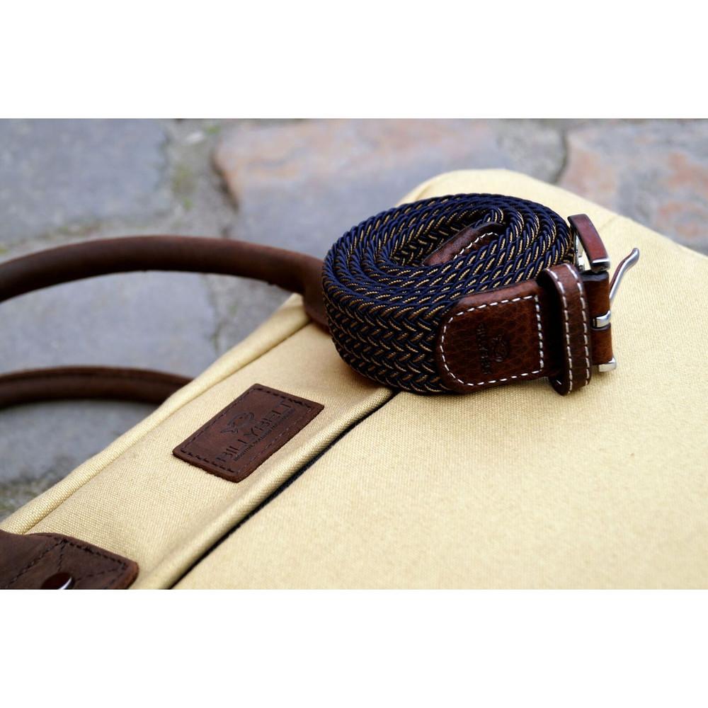 Billybelt Woven Belt - The Havana Two Toned