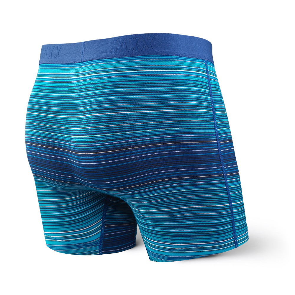 SAXX Vibe Blue Binding Boxer Brief