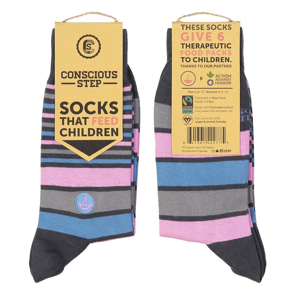 Conscious Steps Socks - Fight Hunger II
