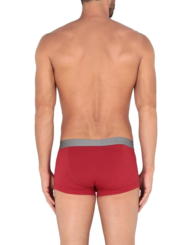 Armani Red Cotton Trunks