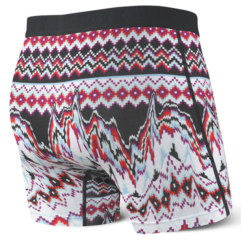 SAXX Vibe Black Tribal Melt Boxer Brief
