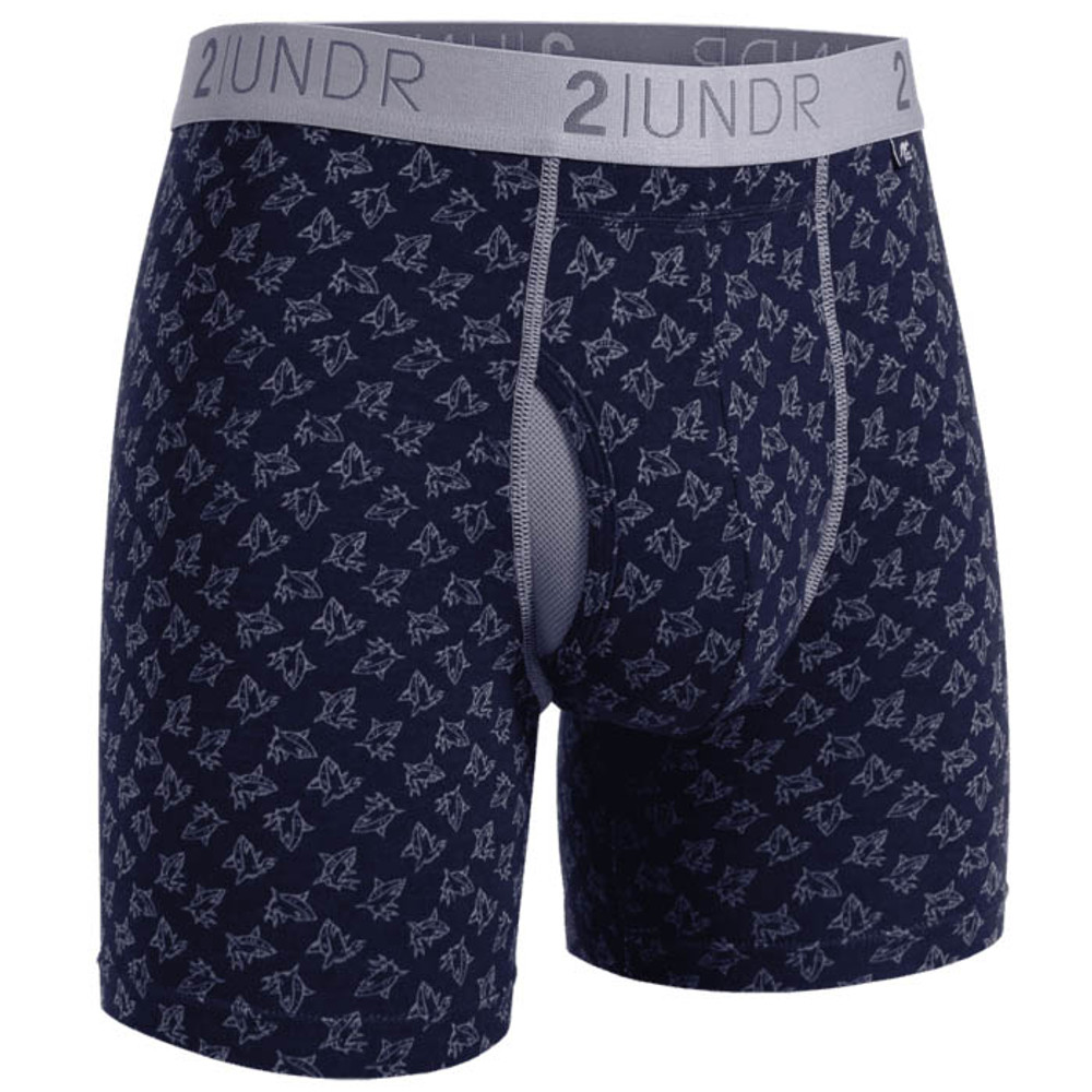 2UNDR Sharks Swing Shift Boxer Briefs