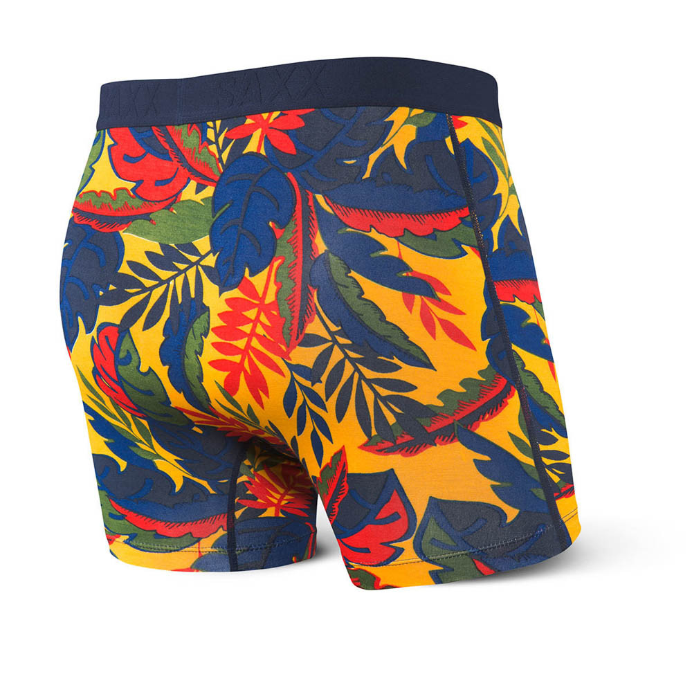 SAXX Vibe Yellow Jungle Boxer Brief
