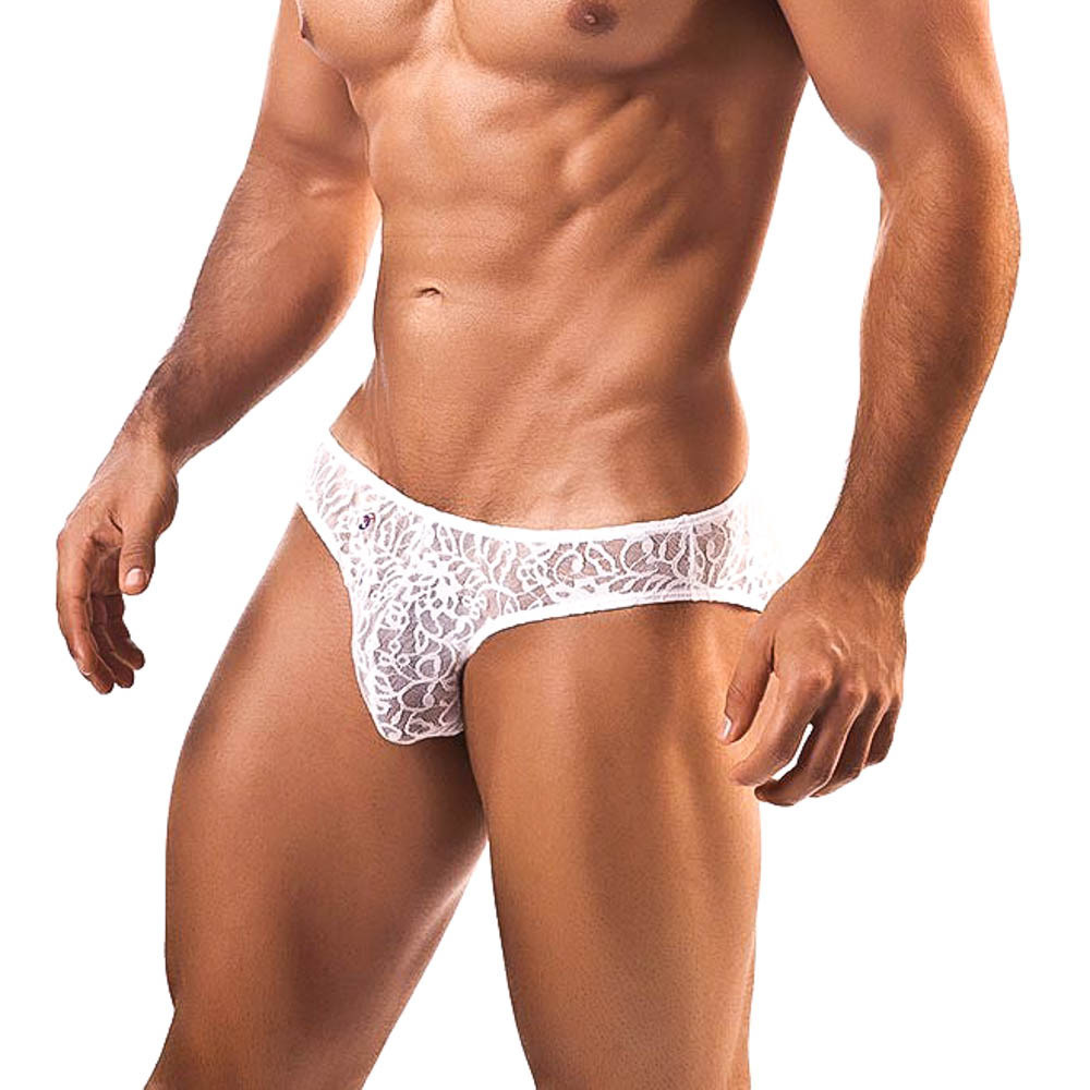 Joe Snyder White Lace Brief