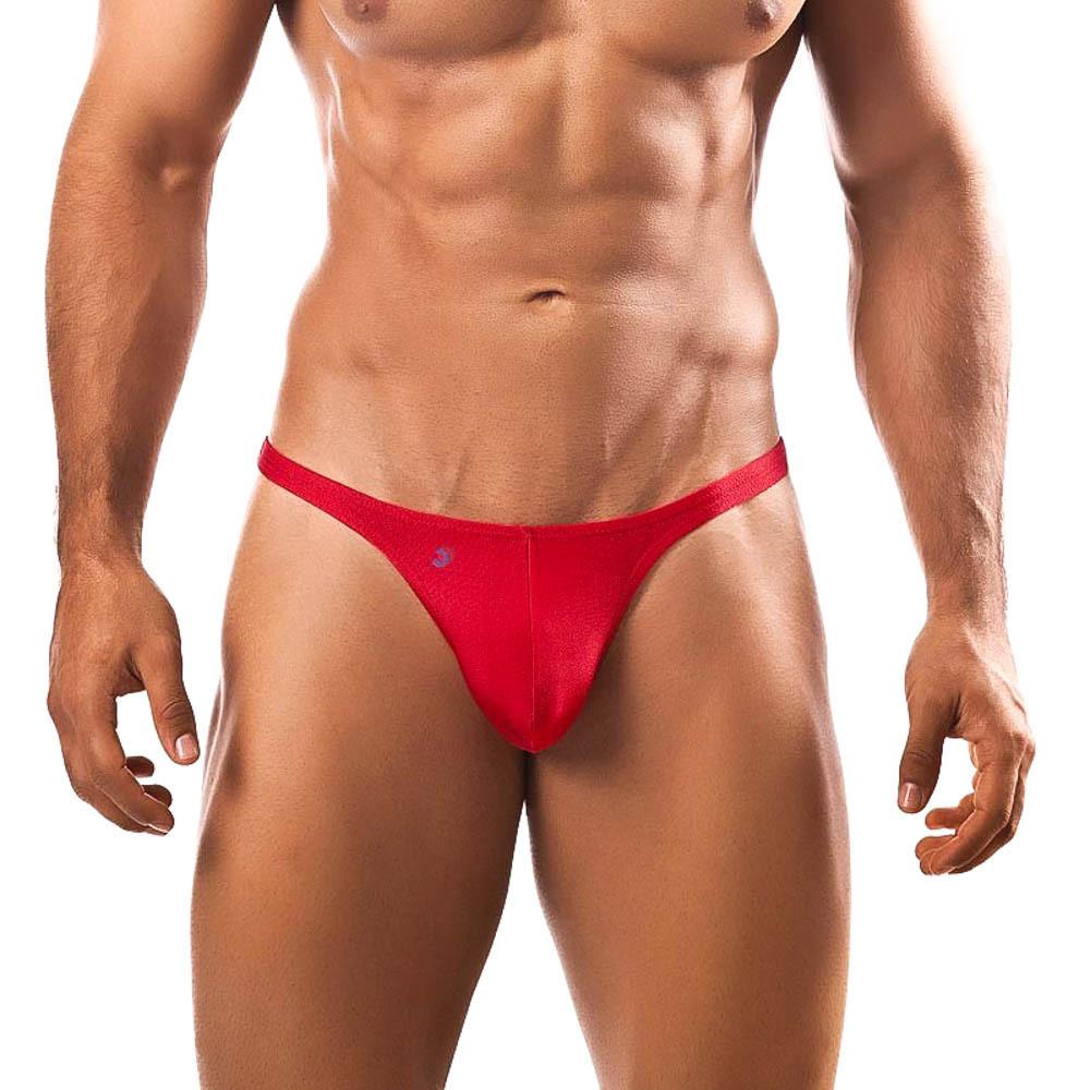 Joe Snyder Red Thong