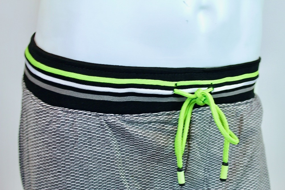 Bottoms Out Green Geo Joggers