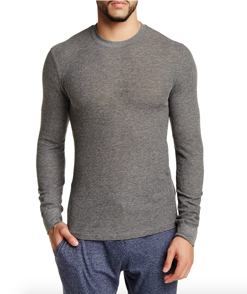 Bottoms Out Thermal Long-Sleeve - Grey