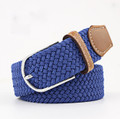 Woven Fabric Belt - Royal Blue