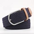 Woven Fabric Belt - Navy