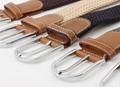 Woven Fabric Belt - Black & White