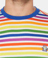 Original Penguin Pride Rainbow Stripe Tee