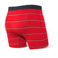 SAXX Vibe Red Shallow Stripe Boxer Brief