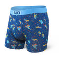 SAXX Vibe Blue Pinata Bang Boxer Brief
