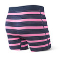 SAXX Vibe Think Pink Stripe Boxer Brief
