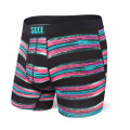 SAXX Vibe Black Stripe Boxer Brief