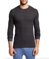 Bottoms Out Thermal Long-Sleeve - Charcoal