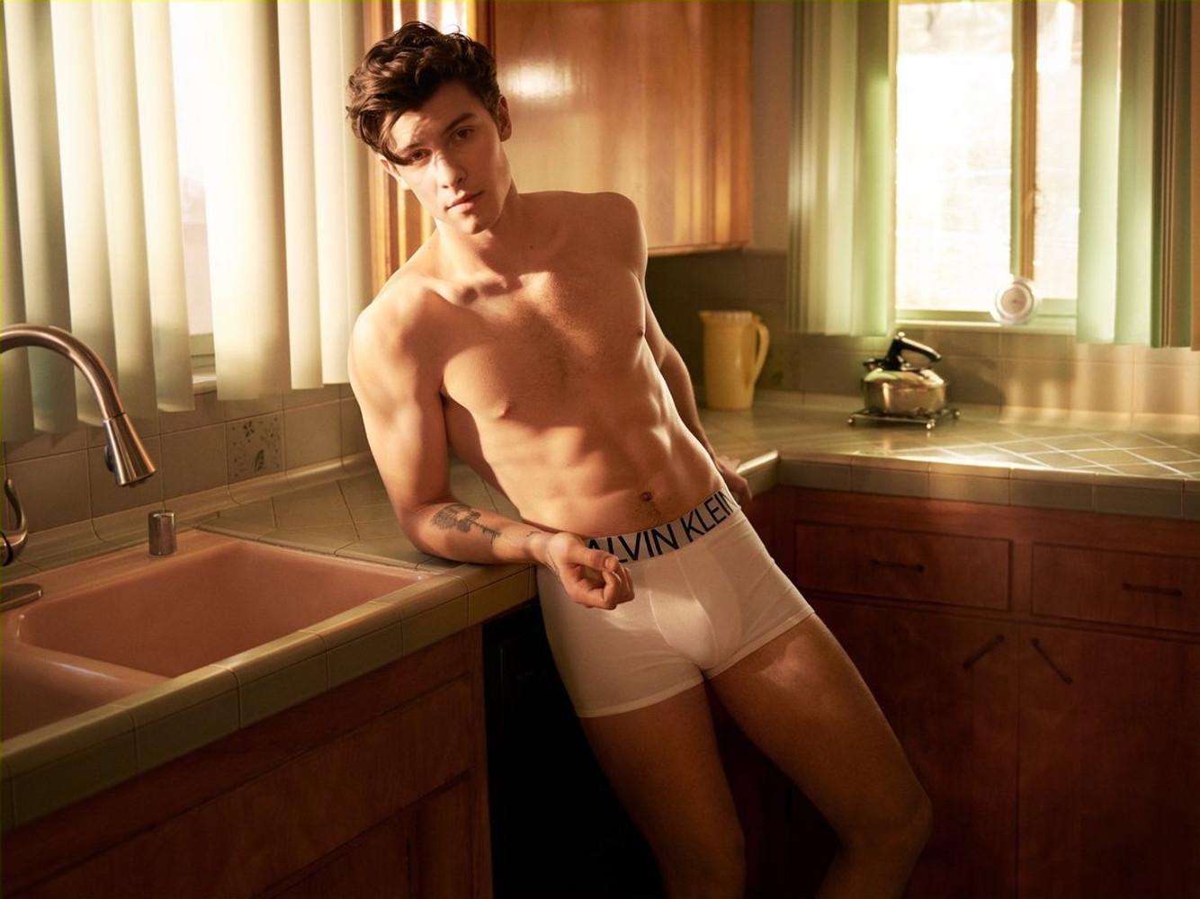 Shawn Mendes for Calvin Klein
