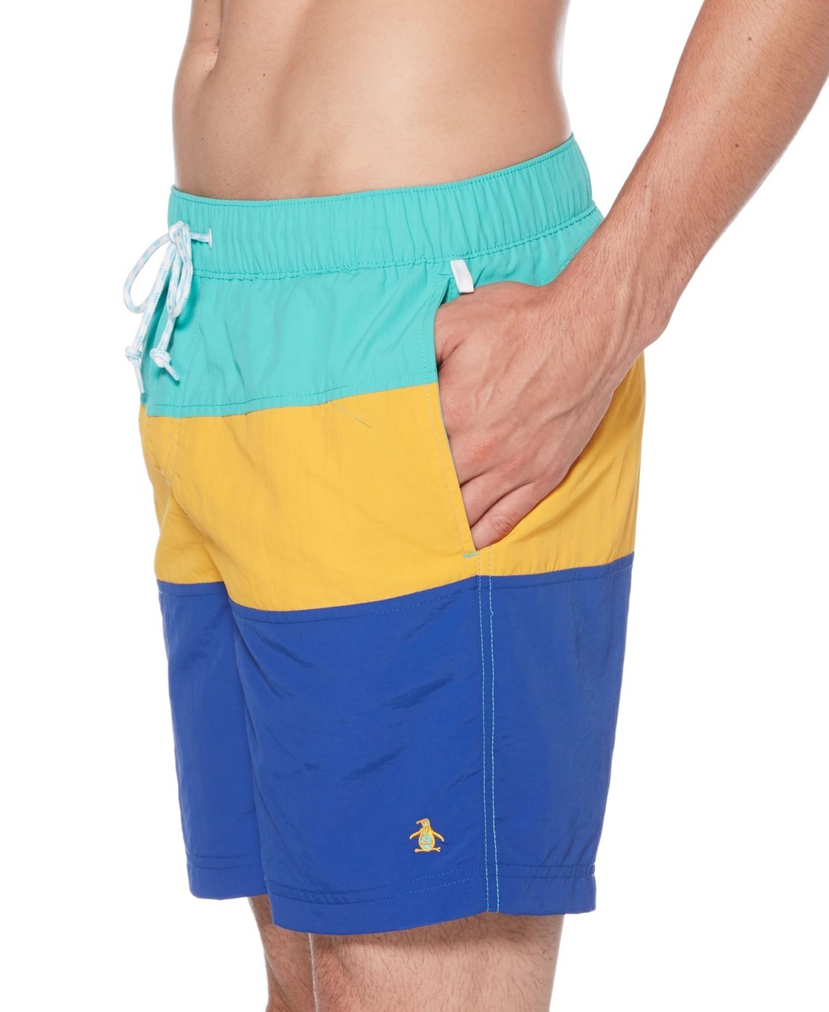 f7241776e3 ... Original Penguin Color Block - Swim Short ...