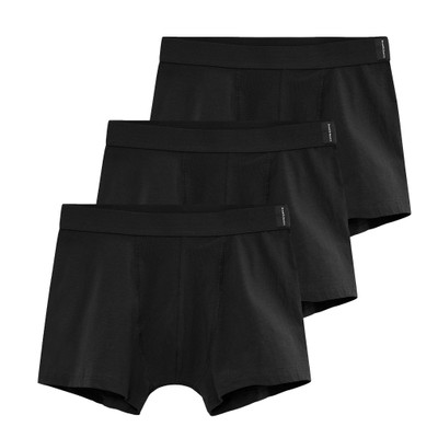Bread & Boxers Black Boxer Briefs - 3 Pack
