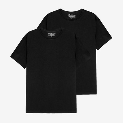 Bread & Boxers Black Crew Neck - 2 Pack