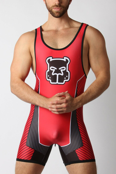 Kennel Club Scout Zipper Singlet - Red