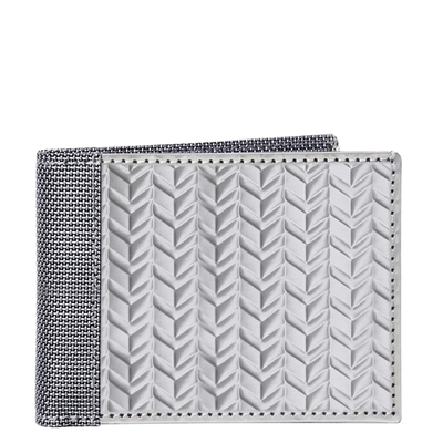 Stewart/Stand Stainless Steel Herringbone Bill Fold