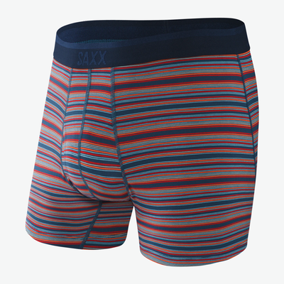 SAXX Platinum Blue Mirage Stripe Boxer Briefs