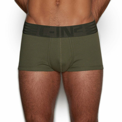 C-IN2 HARD//Core Oliver Green Trunks