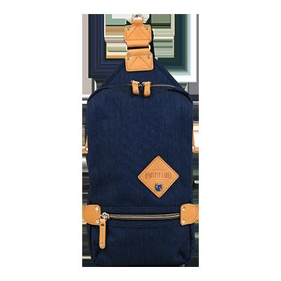 Harvest Label Element Sling Bag - Deep Blue