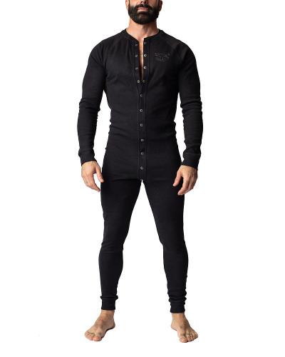 Nasty Pig Union Suit - Black