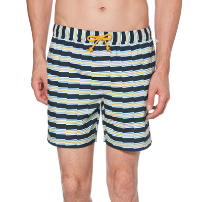 Original Penguin Zig Zag Stripe - Swim Short