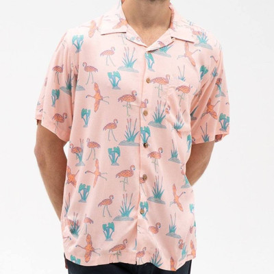 ambsn Pinky Camp Shirt
